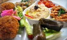 Middle Eastern and Mediterranean Cuisine for Two or Four at Chef Abod Café & Catering (Half Off)