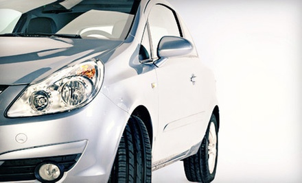 Eco-Friendly Exterior Auto Detail for a Car or SUV from Eco Auto Care Park and Wash (Up to 74% Off)