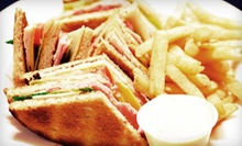 $15 for $30 Worth of Pub Food or Dinner for Four at The Dubliner (Up to 53% Off)