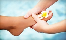 60- or 90-Minute Deluxe Foot-Reflexology Treatment at Gold Spa Foot Reflexology (Up to 59% Off)