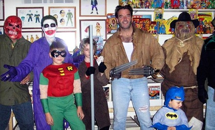 Hall of Heroes Super Hero Museum Visit for Four or Eight in Elkhart (Half Off)