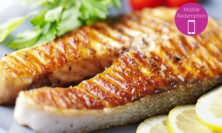 Lunch or Dinner for Two or More at Scott's Seafood Folsom (Up to 47% Off)