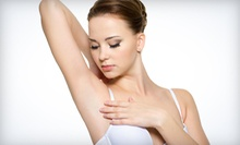 Six Laser Hair-Removal Treatments on a Extra-Small, Small, or Medium Area at Hair Free Laser Institute (Up to 84% Off)