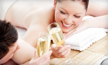 Massage and Facial for One or Massage, Facial, and Champagne for Two at Utopian Salon & Wellness (Up to 55% Off)