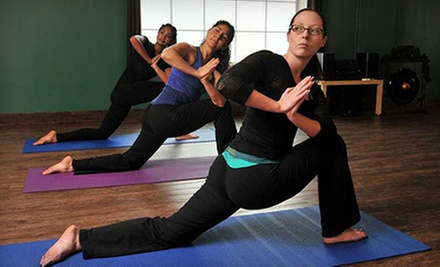 One Month of Unlimited Yoga or 10 Yoga Classes at Imagine Yoga Studio (Up to 65% Off)