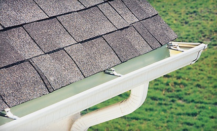 Gutter Cleaning for an Up to 2,000- or 3,000-Square-Foot Home from A Sight To See (Up to 72% Off) 