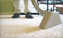 $49 for a Five-Room Carpet Steam Cleaning from Atlantic Oceans Inc. ($99.99 Value)