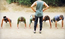 Four or Six Weeks of Outdoor Boot Camp from Project FitFam (Up to 83% Off)