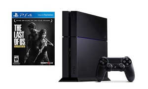 Playstation 4 500gb Console And The Last Of Us Bundle