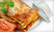 Stuffed Pizza and Italian Cuisine at Barducci's Italian Bistro & Pizzeria (52% Off). Four Options Available.