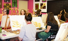 $17 for a BYOB Adult Painting Class at Creations Bayou ($35 Value)