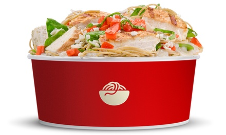 Pasta Bowls, Piadinas, or Salad Bowls and Drinks for 2 or Catering for Up to 18 at Italio (Up to 52% Off)