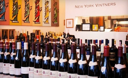 $29 for One Wine and Food Class of Your Choice at New York Vintners (Up to $75 Value)
