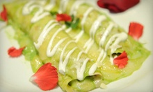 Mexican Dinner Sunday–Thursday or Friday or Saturday, or Mexican Lunch Monday– Friday at Coyote Crossing (Half Off)
