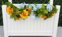 GROUPON: 50% Off PVC Planter Box National Metal Industries