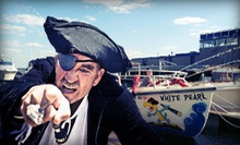 Pirate-Treasure Hunt for Two or Four, or Pirate Birthday Party for Up to 11 from Boston Harbor Shuttle (Up to 54% Off)