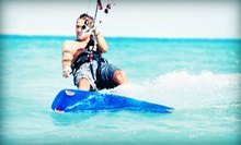 One, Two, or Three 1-Hour Beginner Kitesurfing Lesson on Land from Kitesports (Up to 55% Off)