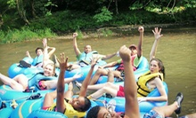 Three- to Four-Hour River-Tubing Excursion for Up to 4 or 15 from RiverGirl Fishing Company (Up to 54% Off)
