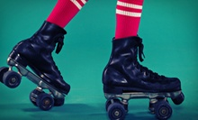 Roller-Skating with Skate Rentals and Arcade Tokens for Two, Four, or Six at Sparkles Family Fun Center (Up to 71% Off)