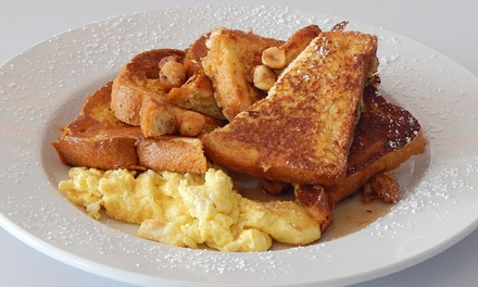 $12 for $20 Worth of Breakfast Fare at Frack Burger