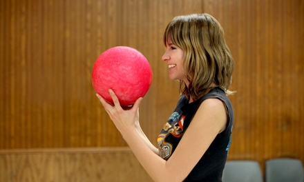Bowling Outing for 4 or 8 with Shoe Rental, Pizzas & Soda at Sunset Recreation Bowling Lanes (Up to 56% Off)