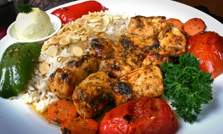 Mediterranean Cuisine for Lunch or Dinner at La Marsa (Up to 47% Off)