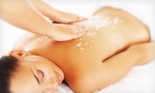 Body Scrub with Optional Massage for One, or Body Scrub with Massage for Two at Stress Solutions Spa (Up to 63% Off)