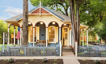 groupon daily deal - 1-Night Stay for Two with Wine Package at Brannan Cottage Inn in Northern Napa Valley