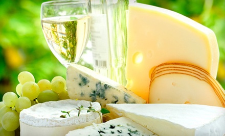 Wine-Tasting Package for 2 or 4 with Bread-and-Cheese Plate and Souvenir Glasses at Rusty Grape Vineyard (Up to 68% Off)