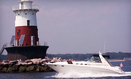 Semiprivate or Private Harbor Cruise from CharterMySeaRay Boat Charters (Up to 57% Off). Three Options Available.