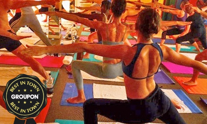 Yogatastic Ltd - London: Hot Bikram Yoga: Ten 90-Minute Sessions for £35 at Yogatastic (71% Off)