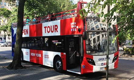 1-Day Bus Ticket or 3-Day Ticket with Ripley's Believe It or Not Visit from Open Tours New York (Up to 36% Off)