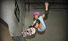 One or Five All-Day Skate-Park Sessions at Aura Skateboarding (Up to 60% Off)