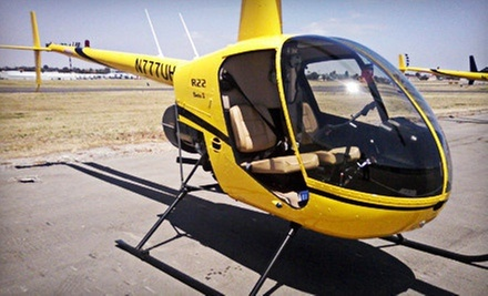 Introductory Helicopter- or Airplane-Flight Lessons from Flying High LLC (Up to 62% Off)