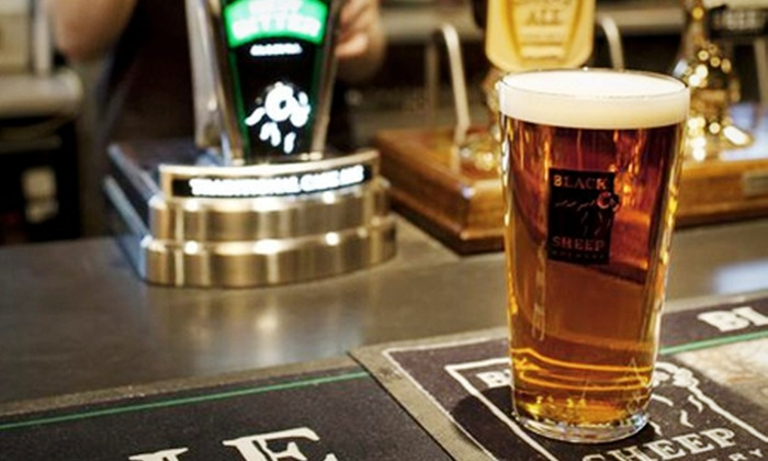 Black Sheep Brewery - Crosshills: Brewery Tour For Two (£6.95) or Four (£10) at Black Sheep Brewery (50% Off)