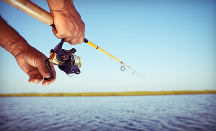 $175 for a Four-Hour Iowa Great Lakes Fishing Trip for Up to Three from The Iowa Guide (Up to $350 Value)