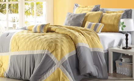 8-Piece Embroidered Comforter Sets. Multiple Options Available. Free Returns.