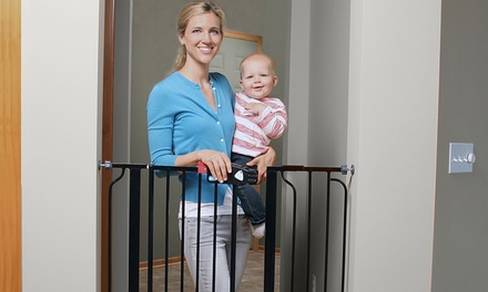 Extra Tall Walk-Through Baby/Pet Gate