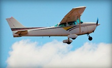 $59 for an Introductory Flight Lesson with 30-Minute Ground School and 30-Minute Flight at Valters Aviation ($118 Value)