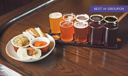 Brewery Tour and Optional Tasting for Two at North High Brewhouse Facility (Up to 55% Off). 9 Options Available