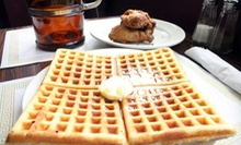 Chicken and Waffles with Sides and Drinks for Two or Four at Eclectic Soul Food (Up to 52% Off)