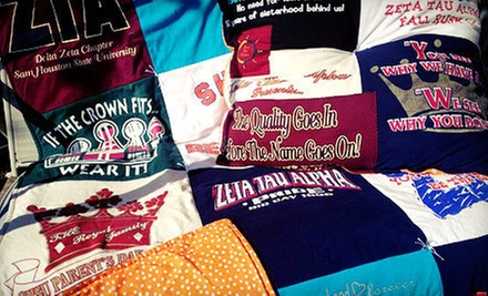 Custom T-Shirt Quilt or Baby-Memory Quilt from Mominizer (Up to 51% Off)