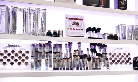 Cosmetics or One-Hour Makeup Lesson at Cinema Secrets (Up to 51% Off)