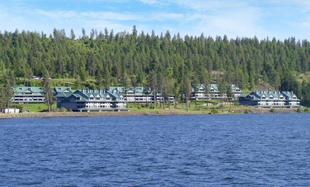 groupon daily deal - 2- or 3-Night Stay in a Two- or Three-Bedroom Condo at Arrow Point Vacation Rentals in Harrison, ID