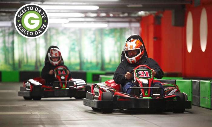 My Kart - MY KART: 2 sessioni di corsa libera su kart o Gran Premio GP2 da 9 € invece di 30