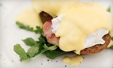 Brunch with Appetizers and Complimentary Drinks for Two or Four at Caffe Regatta Oyster Bar &amp; Grill (Up to 58% Off)