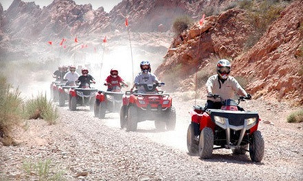 $89 for a Three-Hour Valley of Fire ATV Adventure from Adrenaline ATV Tours ($170 Value)