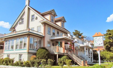 groupon daily deal - 2-Night Stay for Two in any Room at The Atlantic House Bed and Breakfast in Ocean City, MD. Check in Tuesday–Thursday.