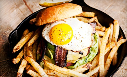 Gastropub Cuisine at Punch Bowl Social (Up to 53% Off). Two Options Available.
