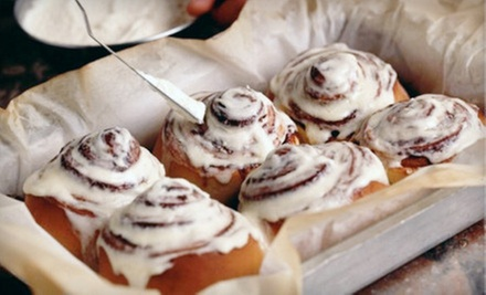 $10 for Five Cinnamon Buns at Cinnnabon ($19.45 Value)